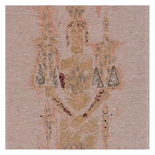 Arazzo Sacra Sindone 50x30 cm 2