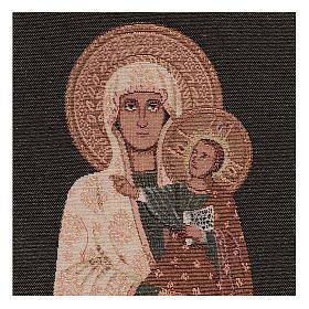 Arazzo Beata Vergine 40x30 cm s2