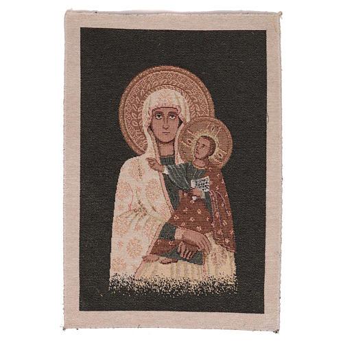 Arazzo Beata Vergine 40x30 cm 1