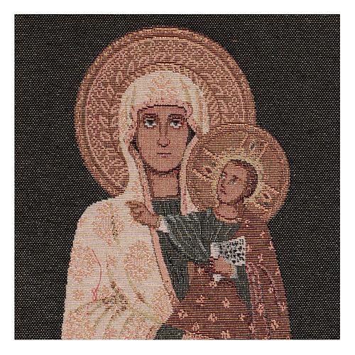 Arazzo Beata Vergine 40x30 cm 2