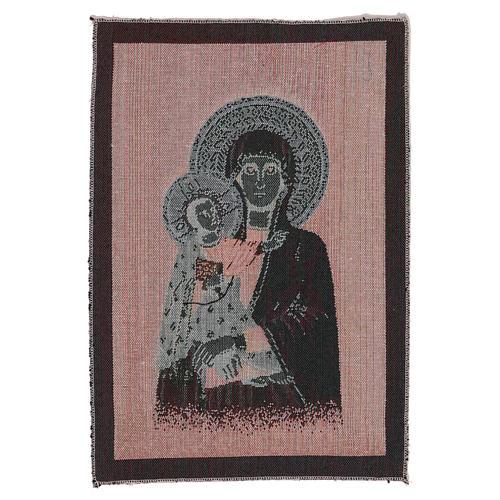Arazzo Beata Vergine 40x30 cm 3