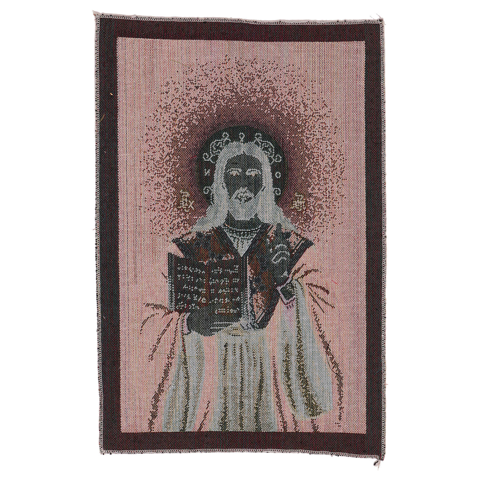 Arazzo Gesù Benedicente 40x30 cm 3