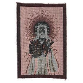 Arazzo Gesù Benedicente 40x30 cm s3