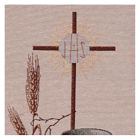 Arazzo Simboli Eucaristici 50x40 cm s2