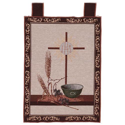 Arazzo Simboli Eucaristici 50x40 cm 1