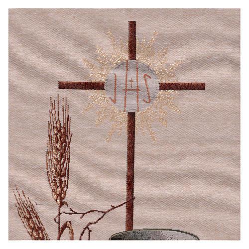 Arazzo Simboli Eucaristici 50x40 cm 2