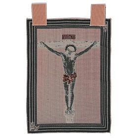 Wandteppich Christus am Kreuz nach Velasquez 50x40 cm s3