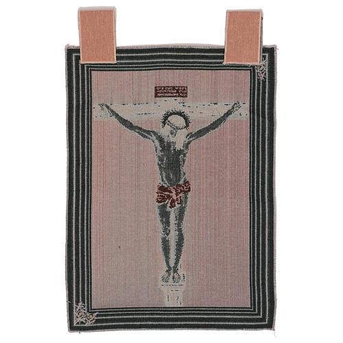 Wandteppich Christus am Kreuz nach Velasquez 50x40 cm 3