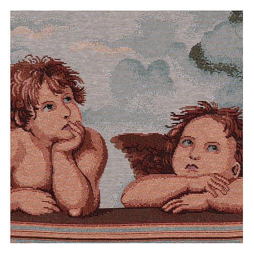 Arazzo Angeli di Raffaello 30x40 cm 2