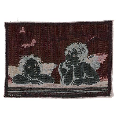 Arazzo Angeli di Raffaello 30x40 cm 3