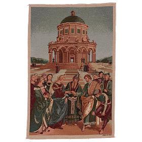Arazzo Sposalizio della Vergine 50x40 cm s1
