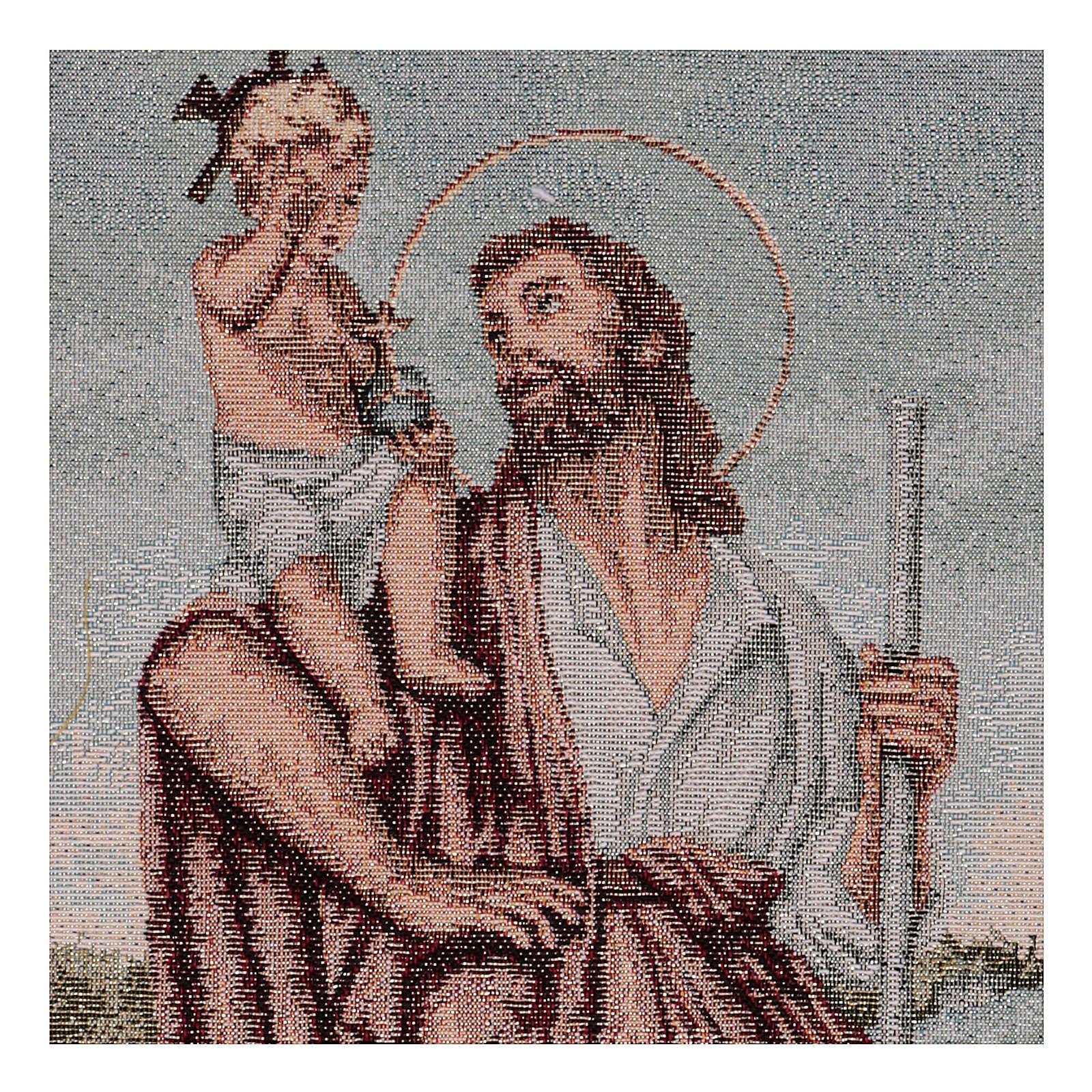Arazzo San Cristoforo 50x30 cm 3