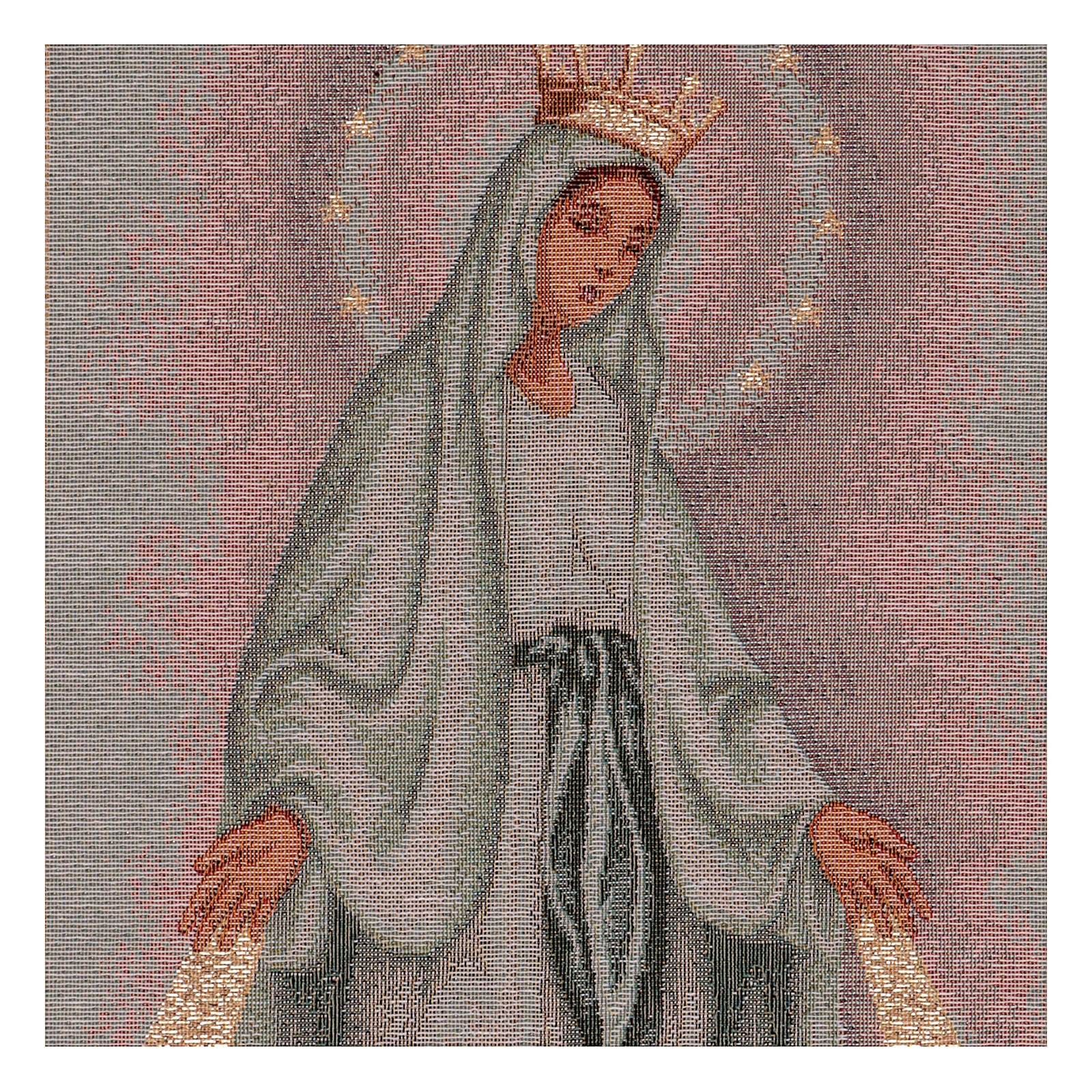 The Miraculous medal tapestry  50x30 cm 3