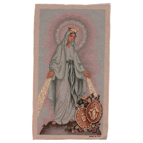 The Miraculous medal tapestry  50x30 cm 1