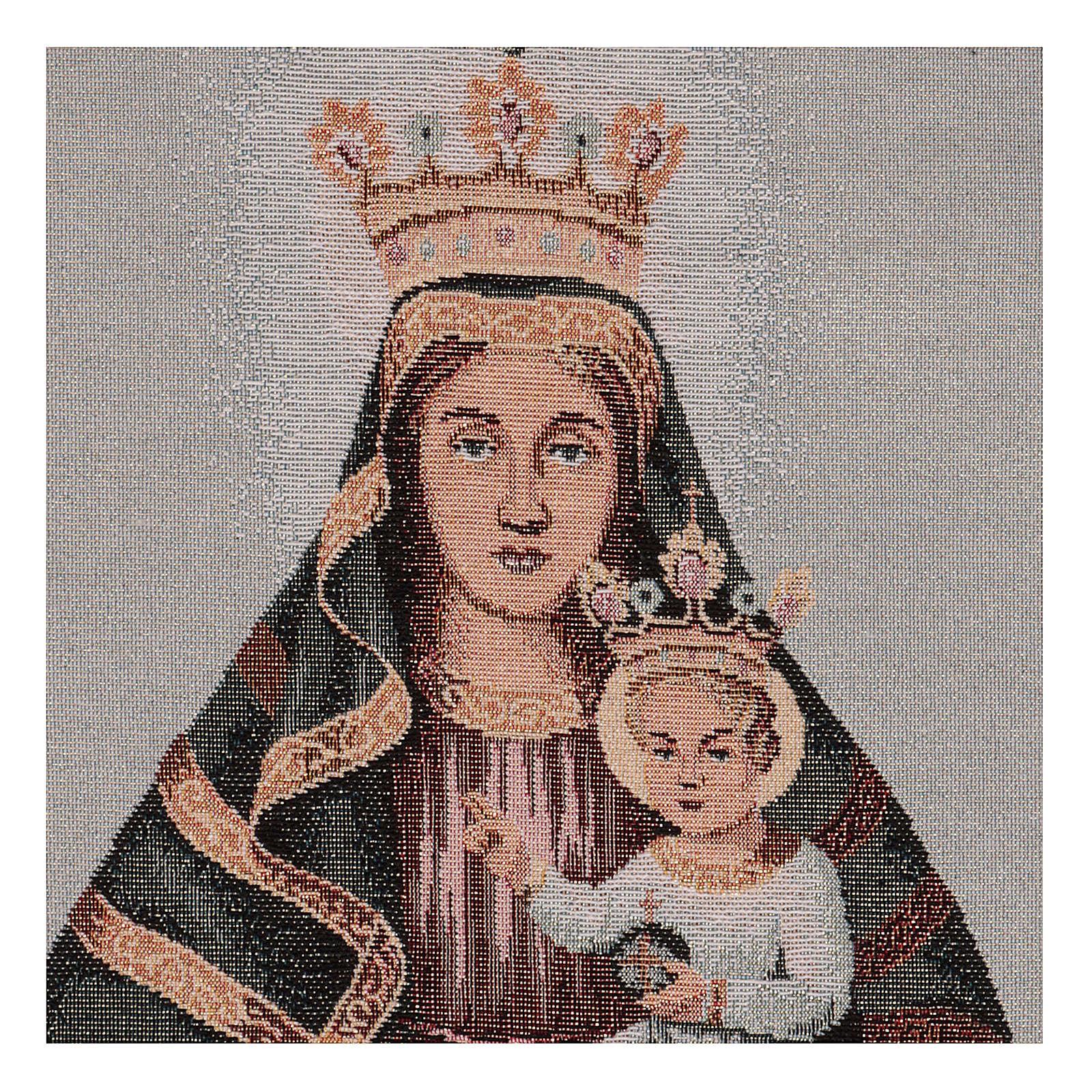 Arazzo Beata Vergine della Creta 40x30 3
