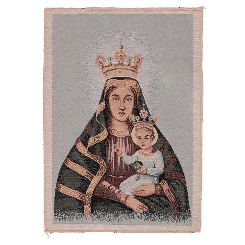 Arazzo Beata Vergine della Creta 40x30 1