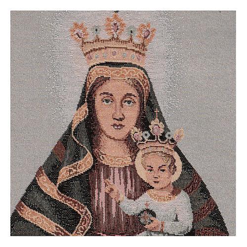 Arazzo Beata Vergine della Creta 40x30 2