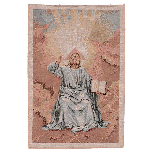 Arazzo Padre con Libro 40x30 cm 1