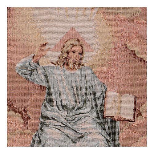 Arazzo Padre con Libro 40x30 cm 2