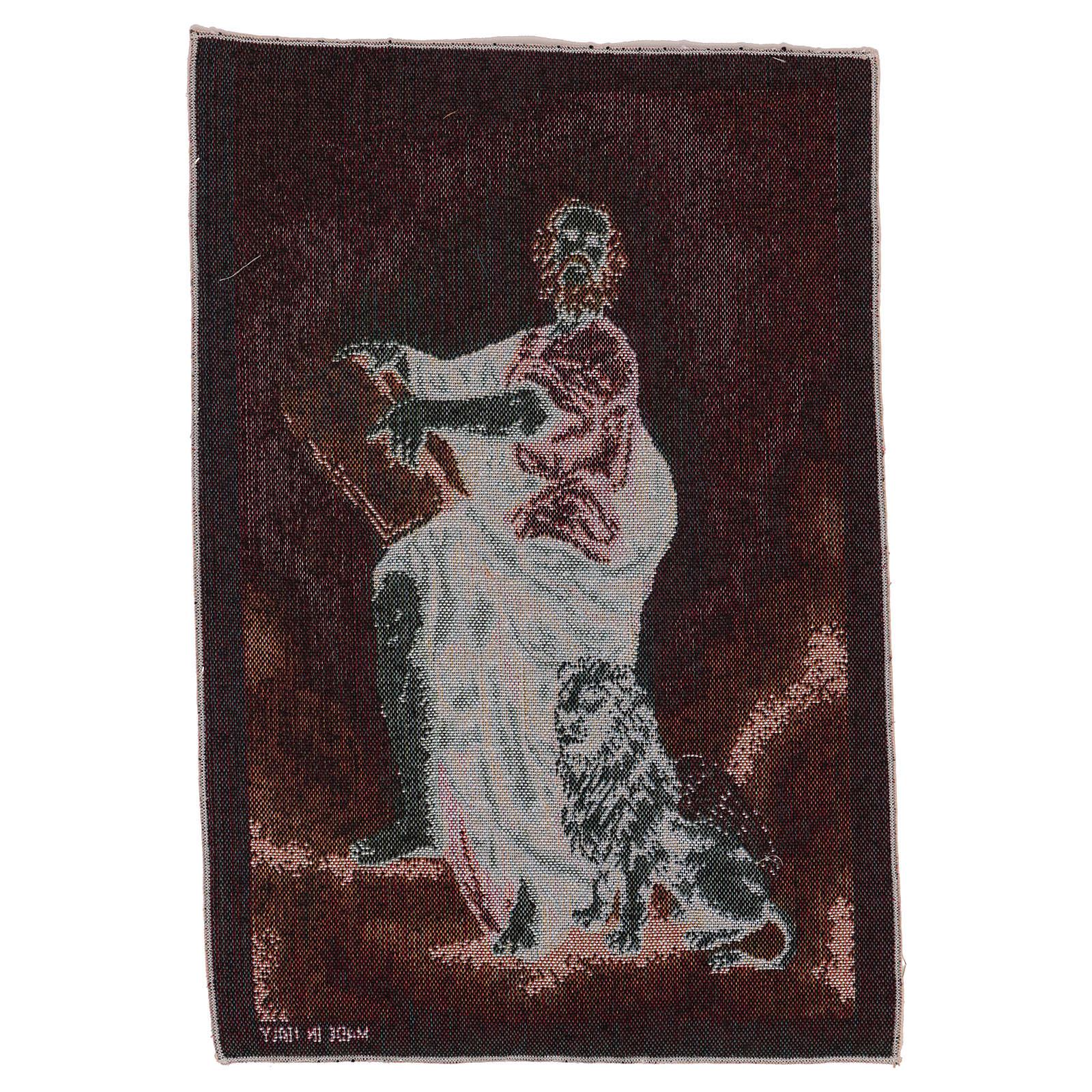 Arazzo San Marco Evangelista 40x30 cm 3