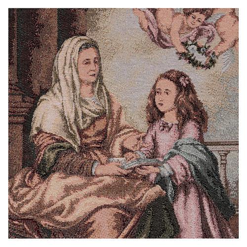 Arazzo S. Anna del Murillo 55x40 cm 2