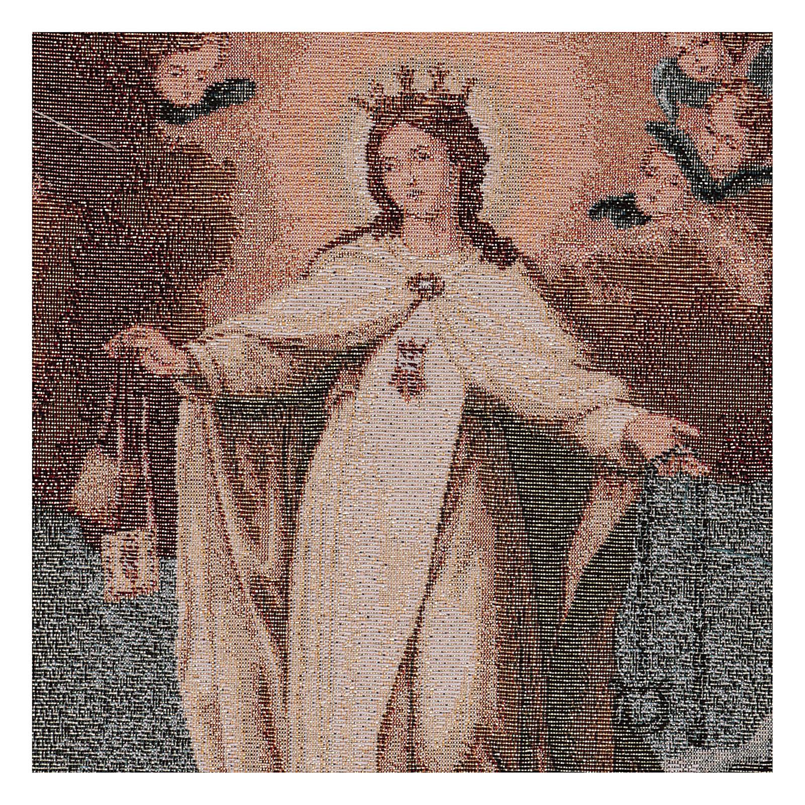 Arazzo Madonna della Mercede 50x30 cm 3