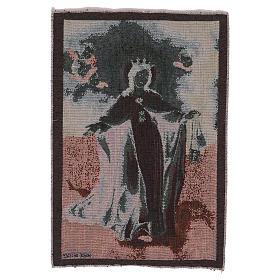 Arazzo Madonna della Mercede 50x30 cm s3