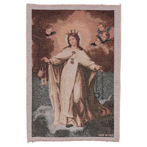 Arazzo Madonna della Mercede 45x30 cm 1