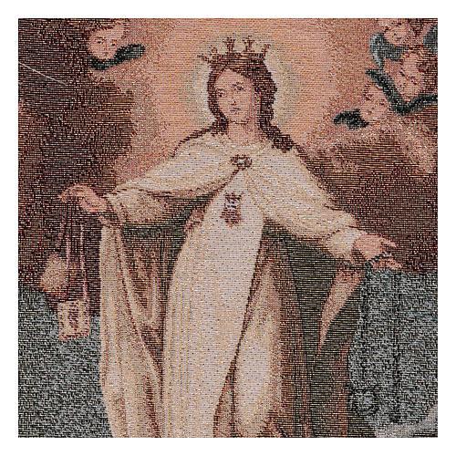 Arazzo Madonna della Mercede 45x30 cm 2