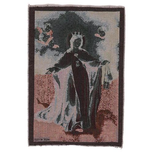 Arazzo Madonna della Mercede 45x30 cm 3