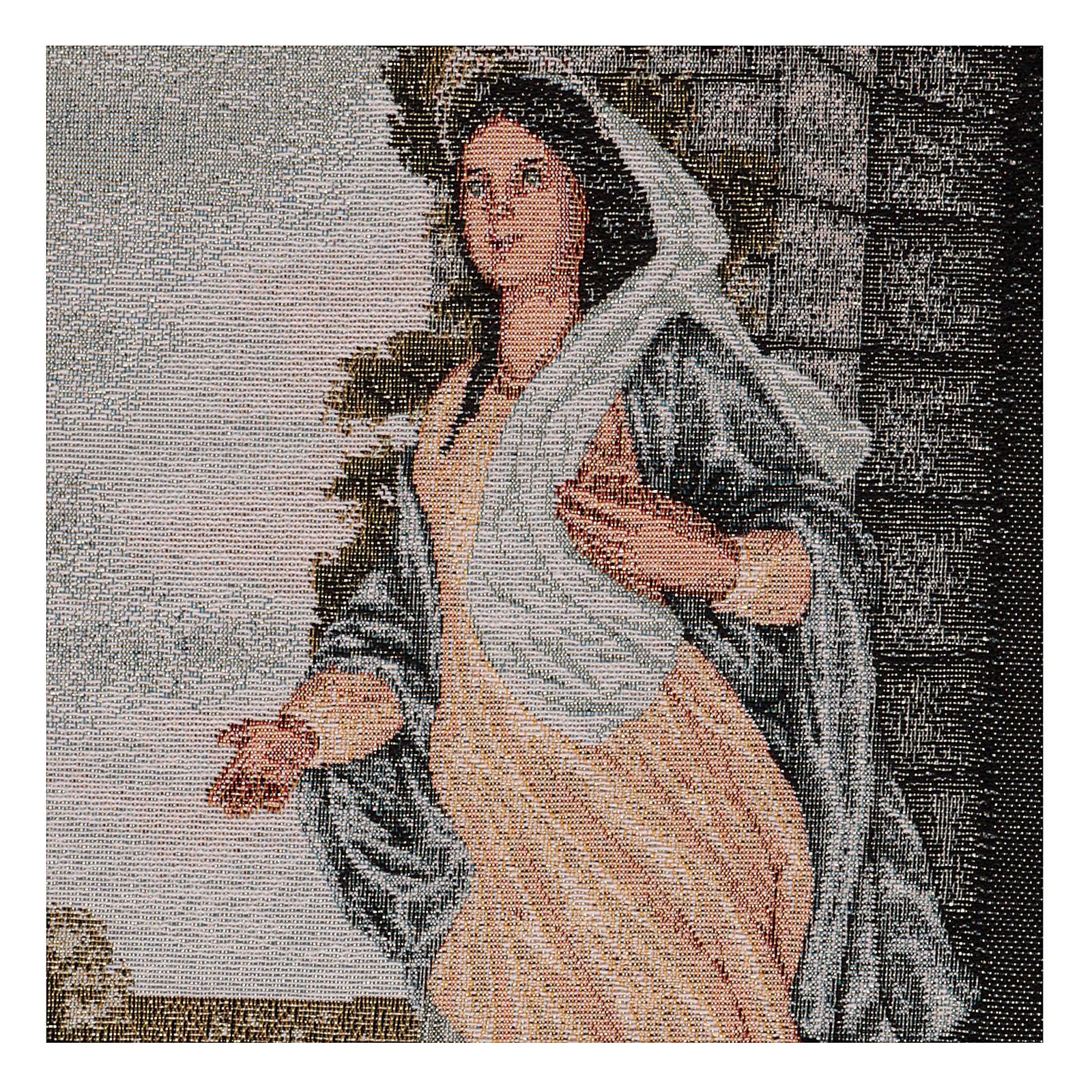 Arazzo Maria di Nazareth 45x30 cm 3