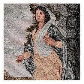 Arazzo Maria di Nazareth 45x30 cm s2