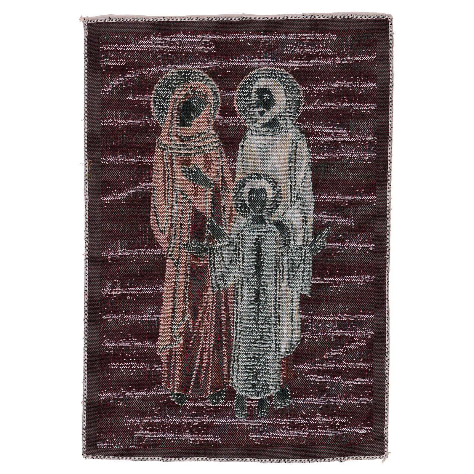 Arazzo Santa Famiglia Mosaico 40x30 cm 3