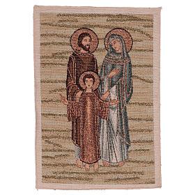 Arazzo Santa Famiglia Mosaico 40x30 cm s1