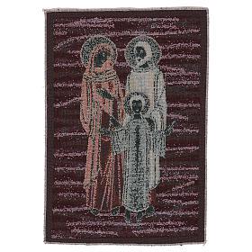 Arazzo Santa Famiglia Mosaico 40x30 cm s3