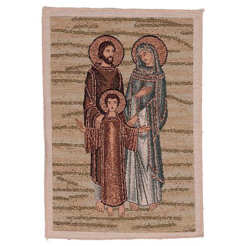 Arazzo Santa Famiglia Mosaico 40x30 cm 1