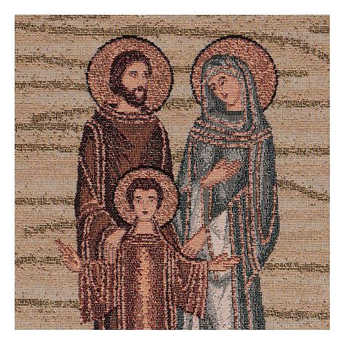 Arazzo Santa Famiglia Mosaico 40x30 cm 2