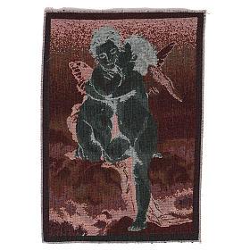 Wandteppich Amor und Psyche nach Bouguereau 40x30 cm s3