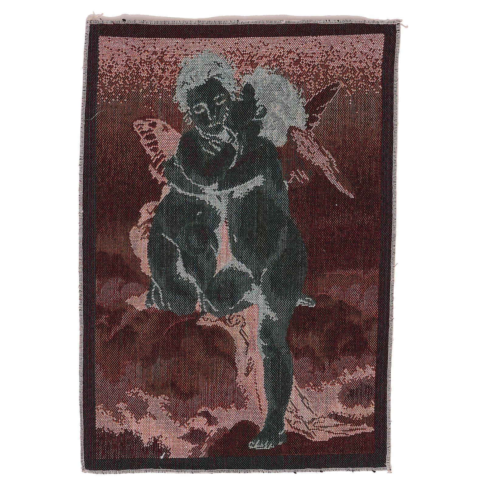 Arazzo Amore e Psiche di Bouguereau 40x30 cm 3