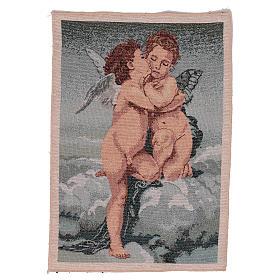 Arazzo Amore e Psiche di Bouguereau 40x30 cm s1