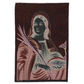 Saint Lucy tapestry 55x40 cm s3