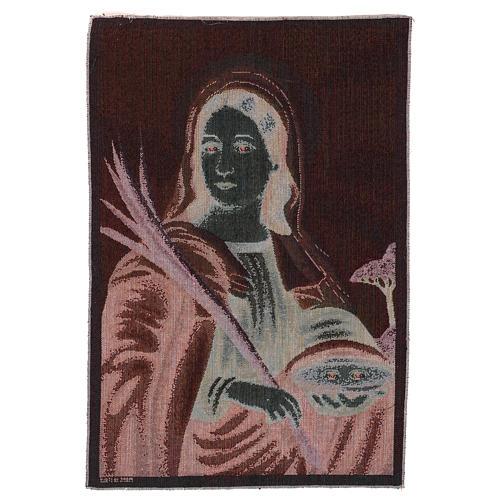 Gobelin Święta Łucja 55x40 cm 3