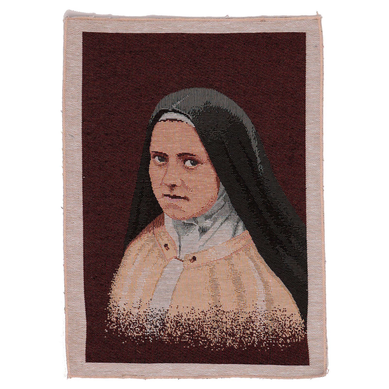 Arazzo Santa Teresa del Bambin Gesù 40x30 cm 3