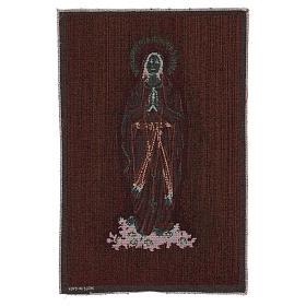 Arazzo Madonna di Lourdes 45x30 cm s3