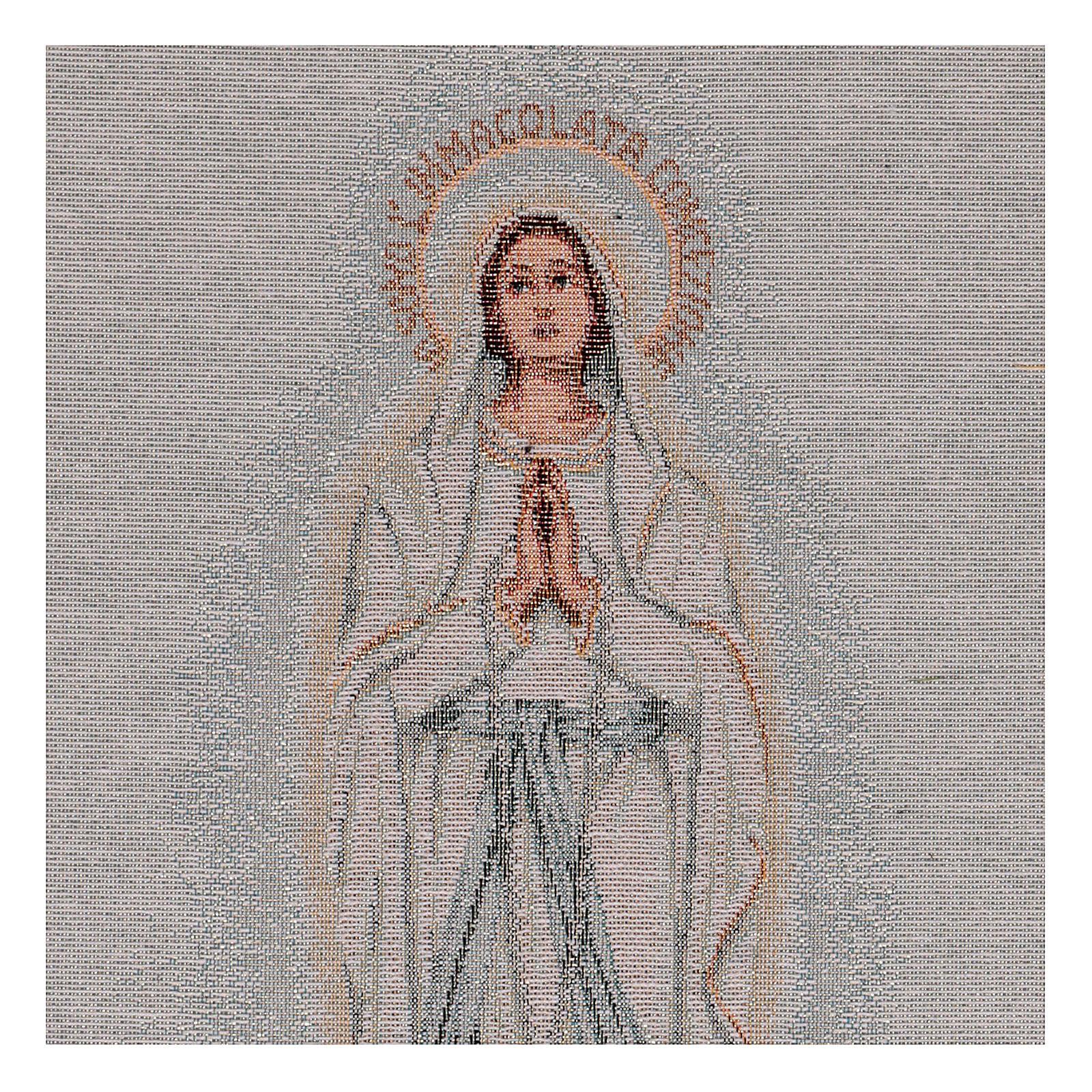 Gobelin Madonna z Lourdes 45x30 cm 3