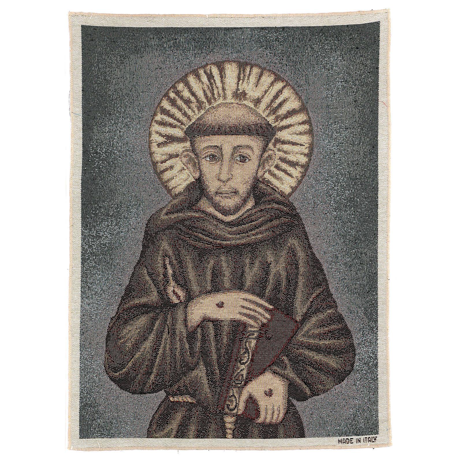 Arazzo San Francesco 50x40 cm 3