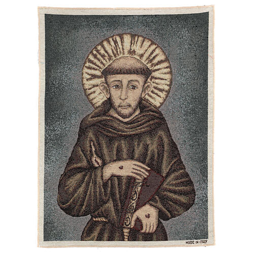 Arazzo San Francesco 50x40 cm 1