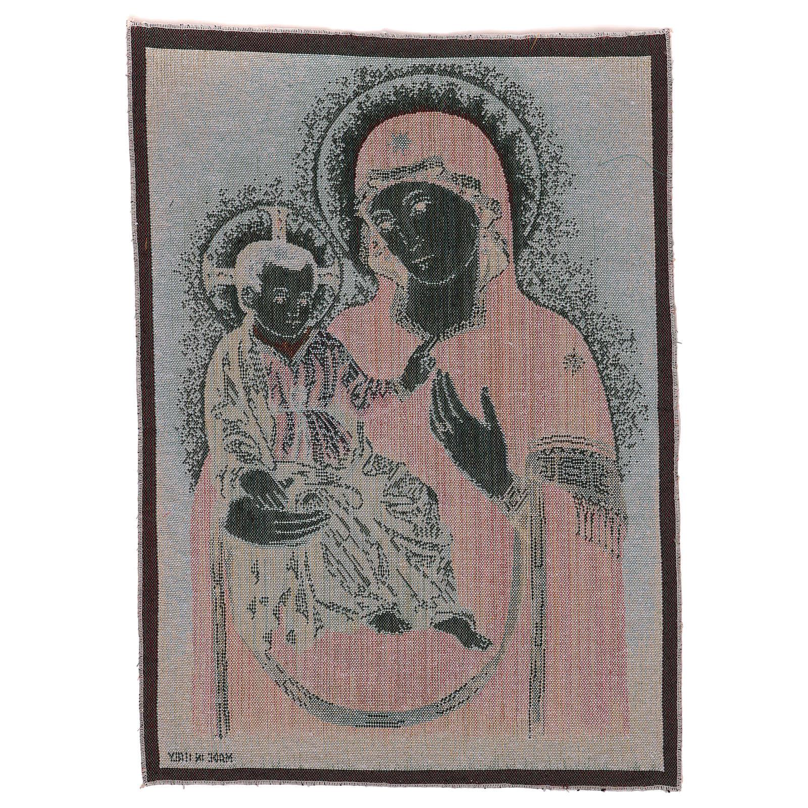 Arazzo Madonna della Consolata 55x40 cm 3