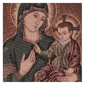 Arazzo Madonna della Consolata 55x40 cm s2