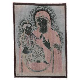 Arazzo Madonna della Consolata 55x40 cm s3